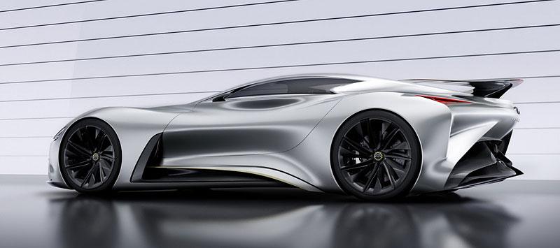 Infiniti Vision Gran Turismo Concept: Bumerang s vizí budoucnosti: - fotka 15
