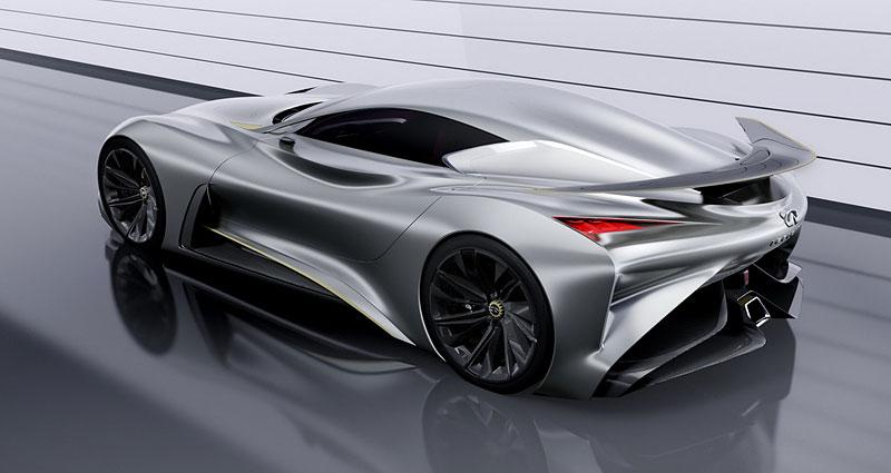 Infiniti Vision Gran Turismo Concept: Bumerang s vizí budoucnosti: - fotka 16