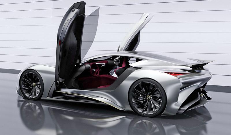Infiniti Vision Gran Turismo Concept: Bumerang s vizí budoucnosti: - fotka 17
