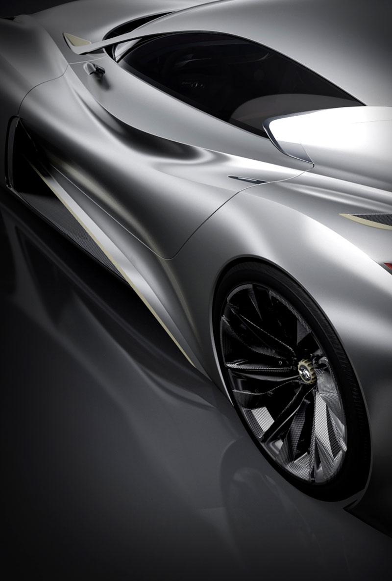 Infiniti Vision GT Concept vystoupilo z virtuální reality (+video): - fotka 39