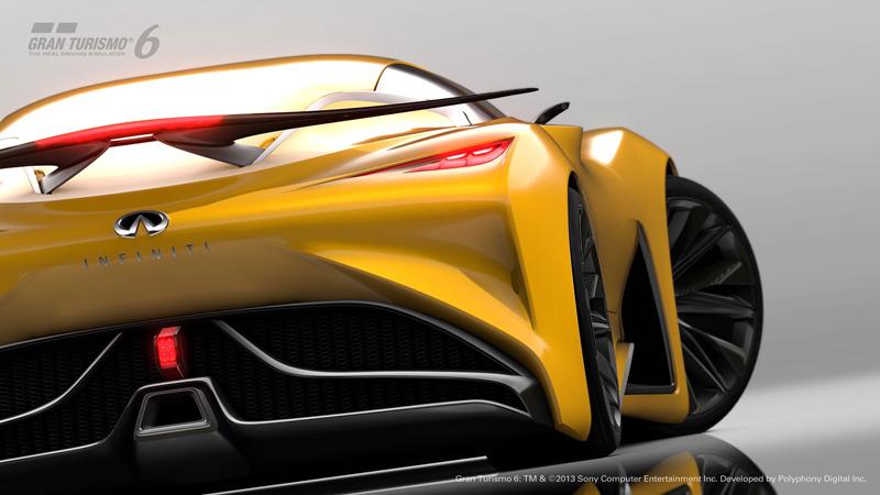 Infiniti Vision GT Concept vystoupilo z virtuální reality (+video): - fotka 45