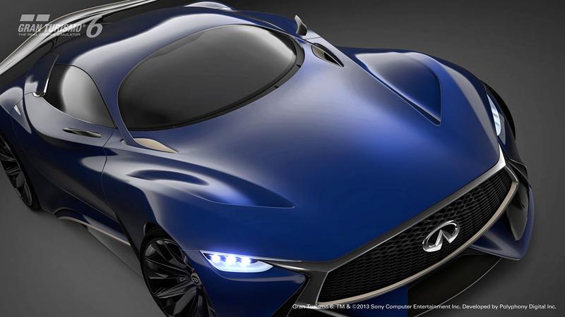 Infiniti Vision GT Concept vystoupilo z virtuální reality (+video): - fotka 48