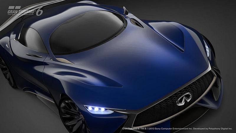Infiniti Vision Gran Turismo Concept: Bumerang s vizí budoucnosti: - fotka 26