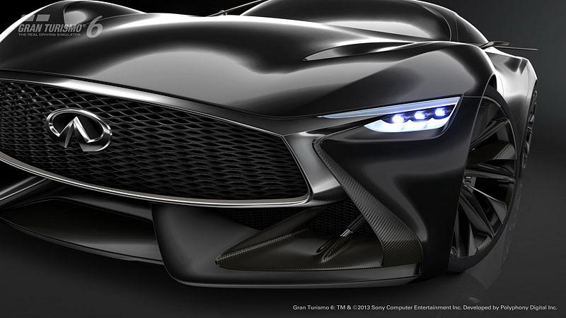 Infiniti Vision Gran Turismo Concept: Bumerang s vizí budoucnosti: - fotka 27