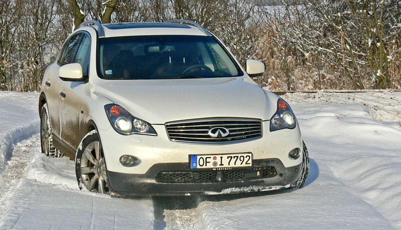 Za volantem: Infiniti G, EX a FX: - fotka 2