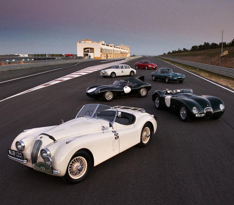 Jaguar letos slaví 75 let: - fotka 12