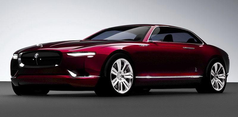 Jaguar B 99: britská střední třída očima Italů: - fotka 1