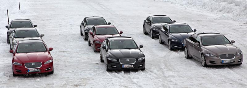 Za volantem: Jaguar XJ a XF AWD aneb Šelmy na ledě: - fotka 2