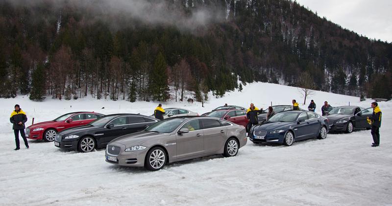 Za volantem: Jaguar XJ a XF AWD aneb Šelmy na ledě: - fotka 5