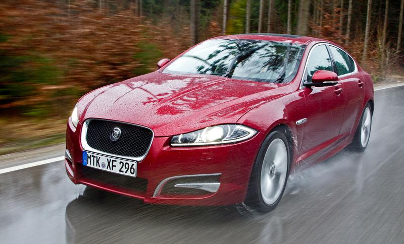 Za volantem: Jaguar XJ a XF AWD aneb Šelmy na ledě: - fotka 8