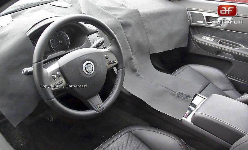 Spy Photos: Jaguar XFR facelift: - fotka 1