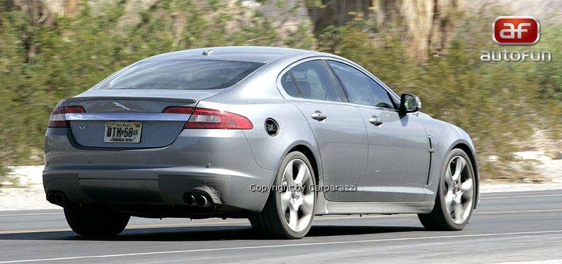Spy Photos: Jaguar XF-R: - fotka 8