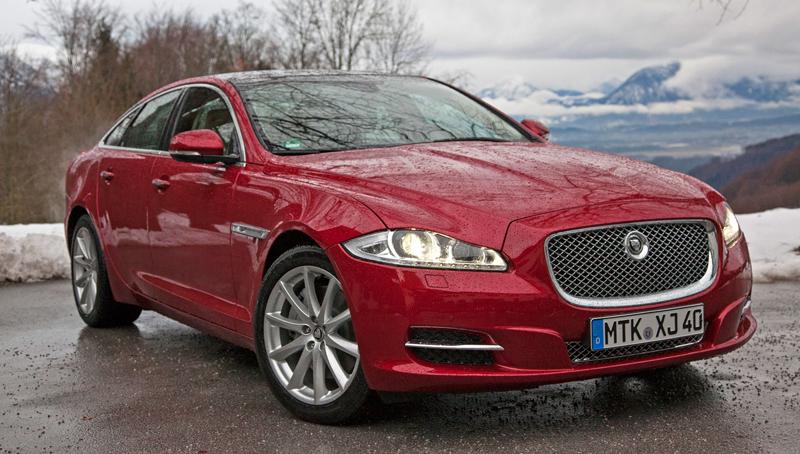 Za volantem: Jaguar XJ a XF AWD aneb Šelmy na ledě: - fotka 33