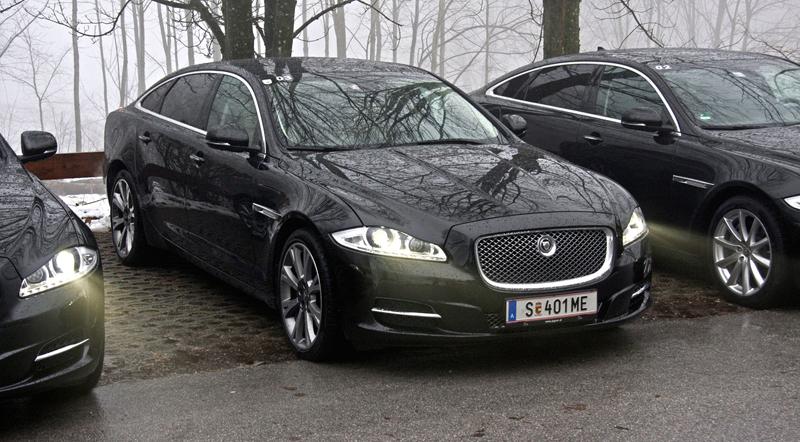 Za volantem: Jaguar XJ a XF AWD aneb Šelmy na ledě: - fotka 32
