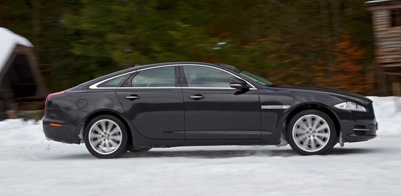 Za volantem: Jaguar XJ a XF AWD aneb Šelmy na ledě: - fotka 49