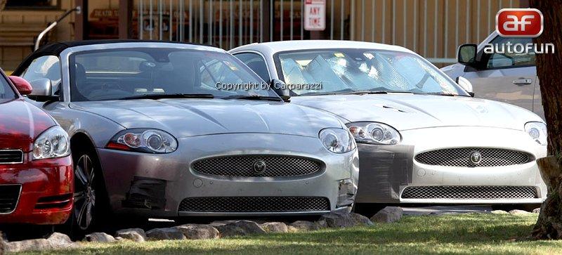 Spy Photos: Jaguar XK téměř bez maskování: - fotka 1