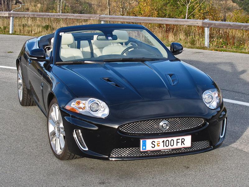Za volantem: Jaguar XKR Convertible: - fotka 2