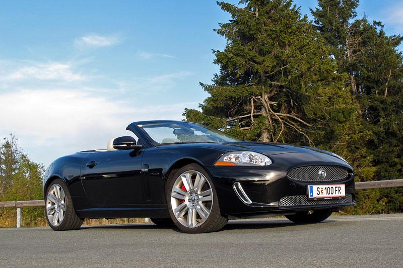 Za volantem: Jaguar XKR Convertible: - fotka 5
