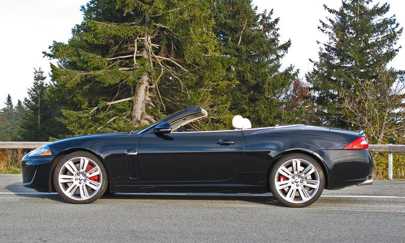 Za volantem: Jaguar XKR Convertible: - fotka 8