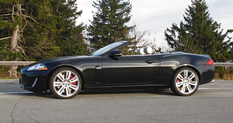 Za volantem: Jaguar XKR Convertible: - fotka 9