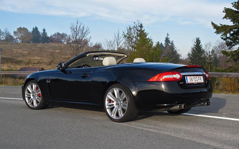Za volantem: Jaguar XKR Convertible: - fotka 10