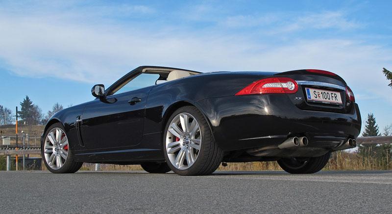 Za volantem: Jaguar XKR Convertible: - fotka 11