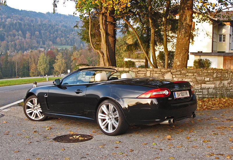 Za volantem: Jaguar XKR Convertible: - fotka 12