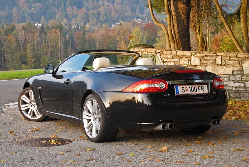 Za volantem: Jaguar XKR Convertible: - fotka 13