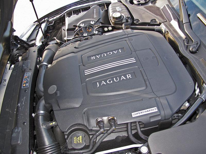 Za volantem: Jaguar XKR Convertible: - fotka 14