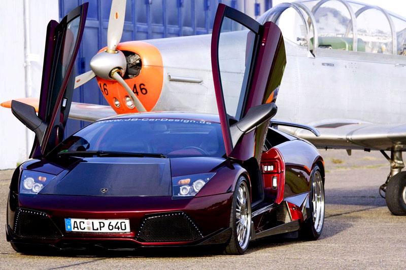 Lamborghini Murciélago LP 640 JB-R: specialita od JB Design: - fotka 5