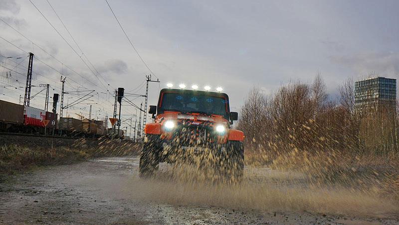 Jeep Wrangler s kompresorem z Mnichova (+video): - fotka 2