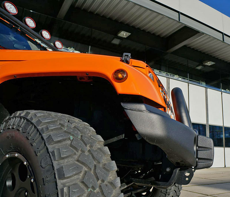 Jeep Wrangler s kompresorem z Mnichova (+video): - fotka 10