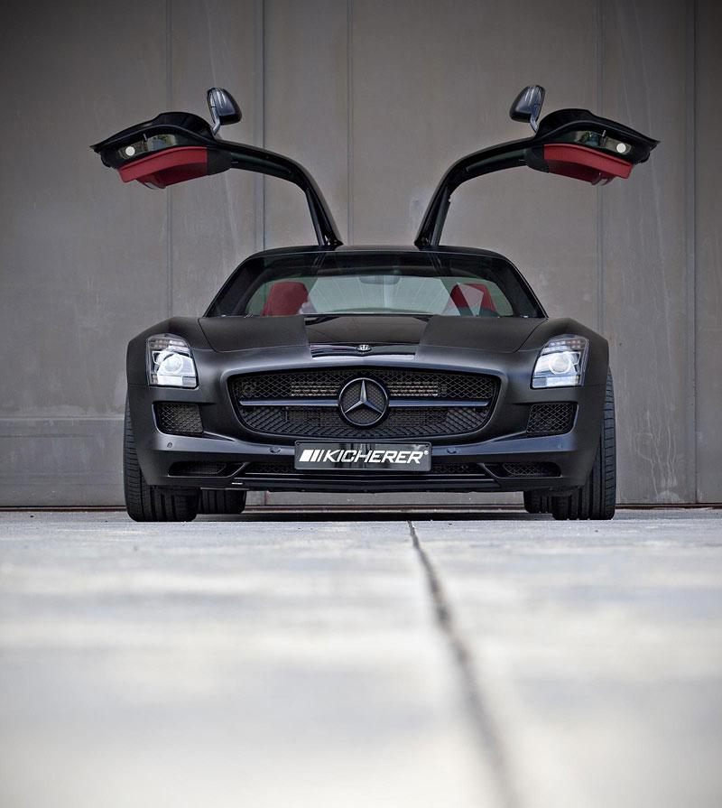 Mercedes-Benz SLS AMG Black Edition: matná čerň od Kicherer: - fotka 2