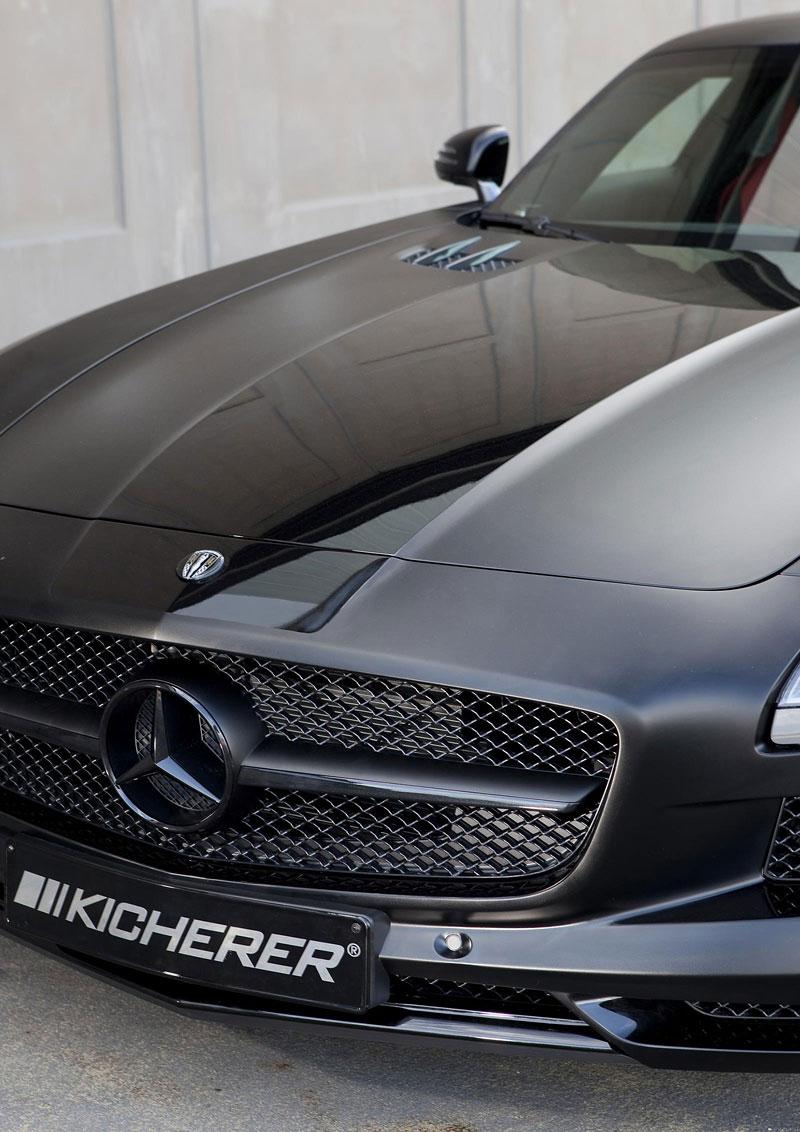 Mercedes-Benz SLS AMG Black Edition: matná čerň od Kicherer: - fotka 8
