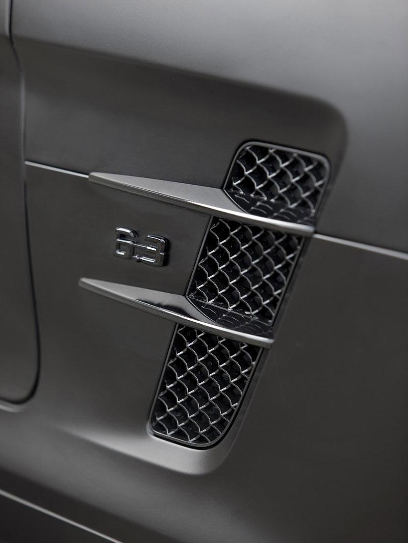 Mercedes-Benz SLS AMG Black Edition: matná čerň od Kicherer: - fotka 9