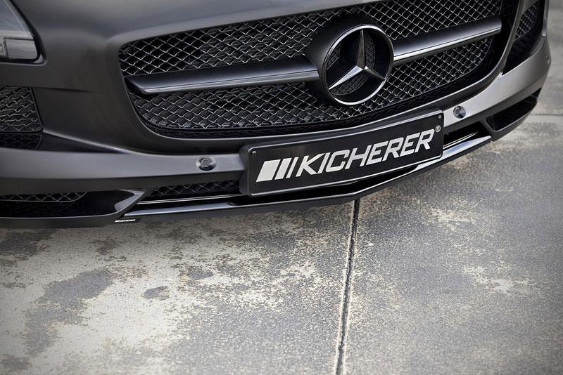 Mercedes-Benz SLS AMG Black Edition: matná čerň od Kicherer: - fotka 11
