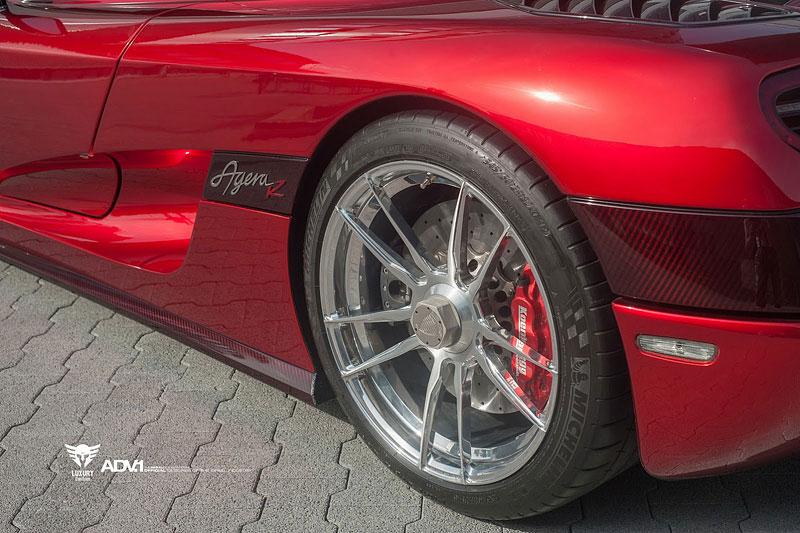 Koenigsegg Agera R s koly ADV.1: Čtyřicet paprsků pro rudého Seveřana: - fotka 21