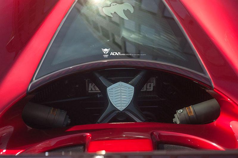 Koenigsegg Agera R s koly ADV.1: Čtyřicet paprsků pro rudého Seveřana: - fotka 23