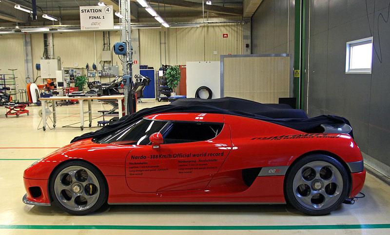 Koenigsegg: velká fotogalerie: - fotka 39