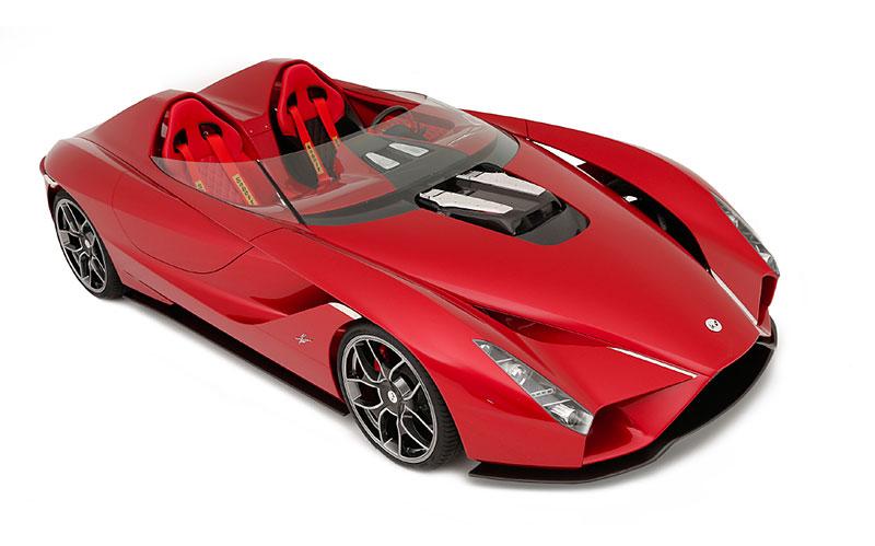 Okuyama Kode57: Ferrari z Japonska nahlíží do minulosti: - fotka 1