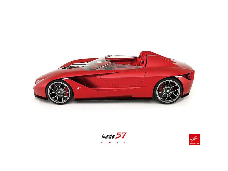 Okuyama Kode57: Ferrari z Japonska nahlíží do minulosti: - fotka 2