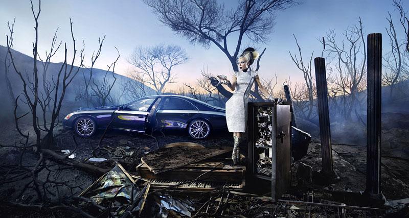 Maybach Zeppelin: David LaChapelle dělá umění: - fotka 1