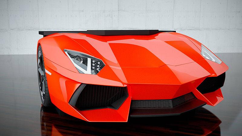 Tohle je způsob, jak mít kus Lamborghini i v obýváku. Levné to ale není: - fotka 3