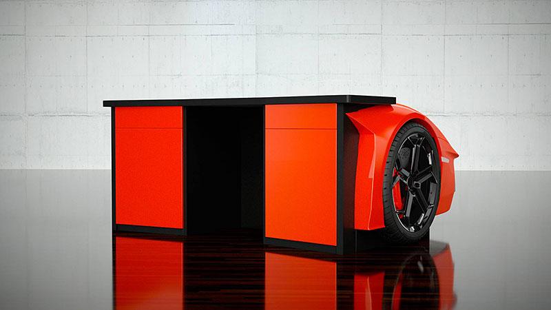 Tohle je způsob, jak mít kus Lamborghini i v obýváku. Levné to ale není: - fotka 4