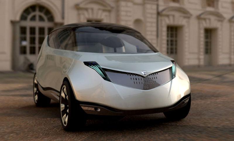 Jak vidí Lancia svoji budoucnost? Návrhy přímo z designcentra automobilky!: - fotka 1