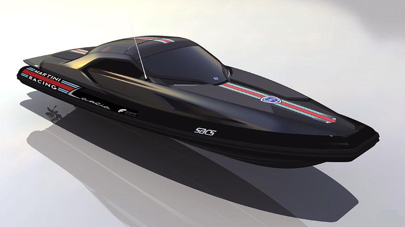 Lancia di Lancia: 1120 koní na vodě: - fotka 1