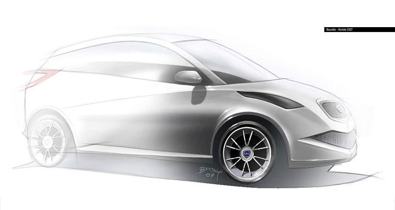 Jak vidí Lancia svoji budoucnost? Návrhy přímo z designcentra automobilky!: - fotka 4
