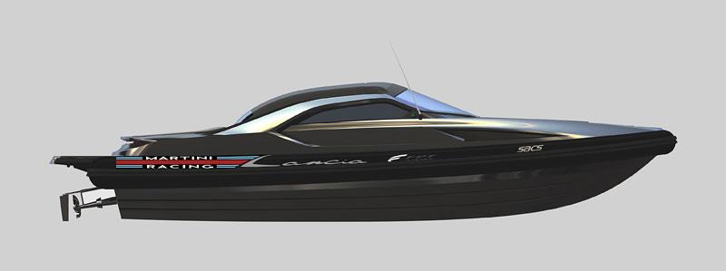 Lancia di Lancia: 1120 koní na vodě: - fotka 2
