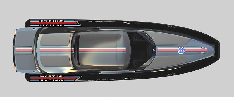 Lancia di Lancia: 1120 koní na vodě: - fotka 3