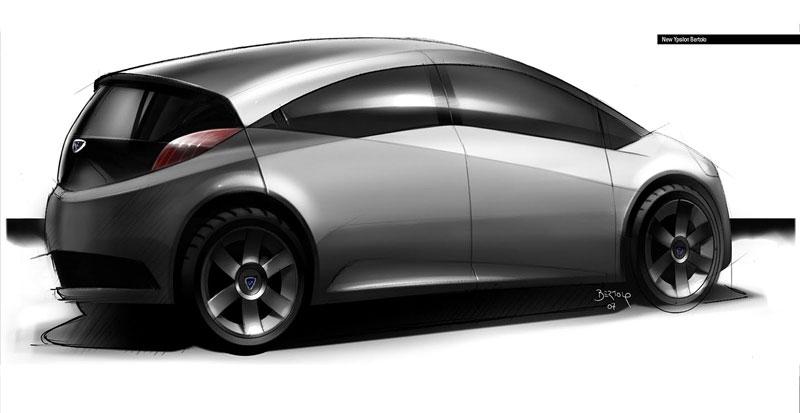 Jak vidí Lancia svoji budoucnost? Návrhy přímo z designcentra automobilky!: - fotka 11